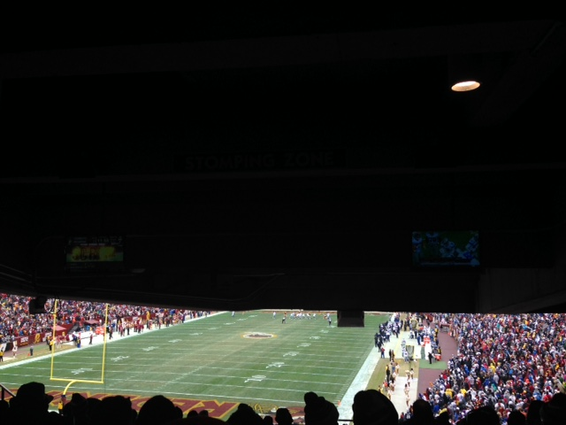 Seat View for FedExField Section 230, Row 21