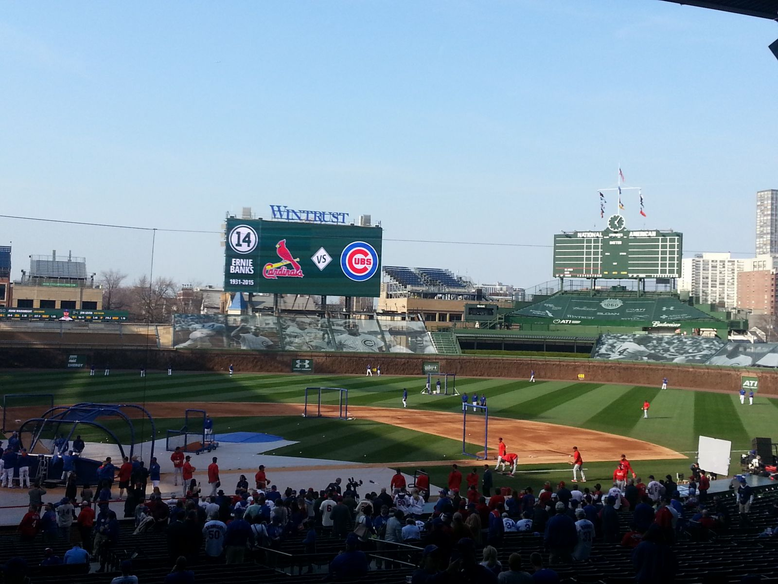 Seat View for Wrigley Field Section 224, Row 8
