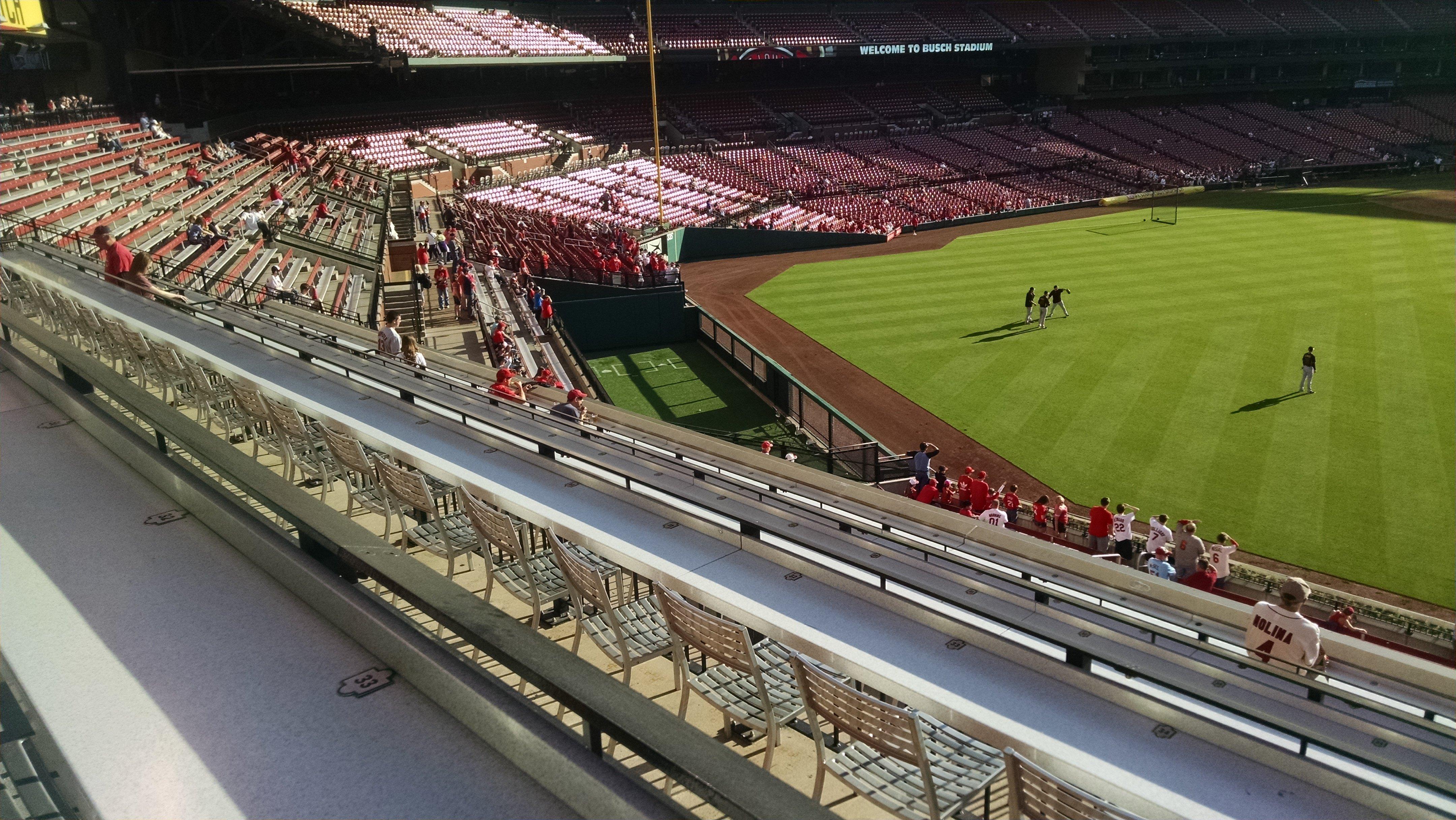 Busch Stadium Coca Cola Scoreboard Patio Rateyourseatscom