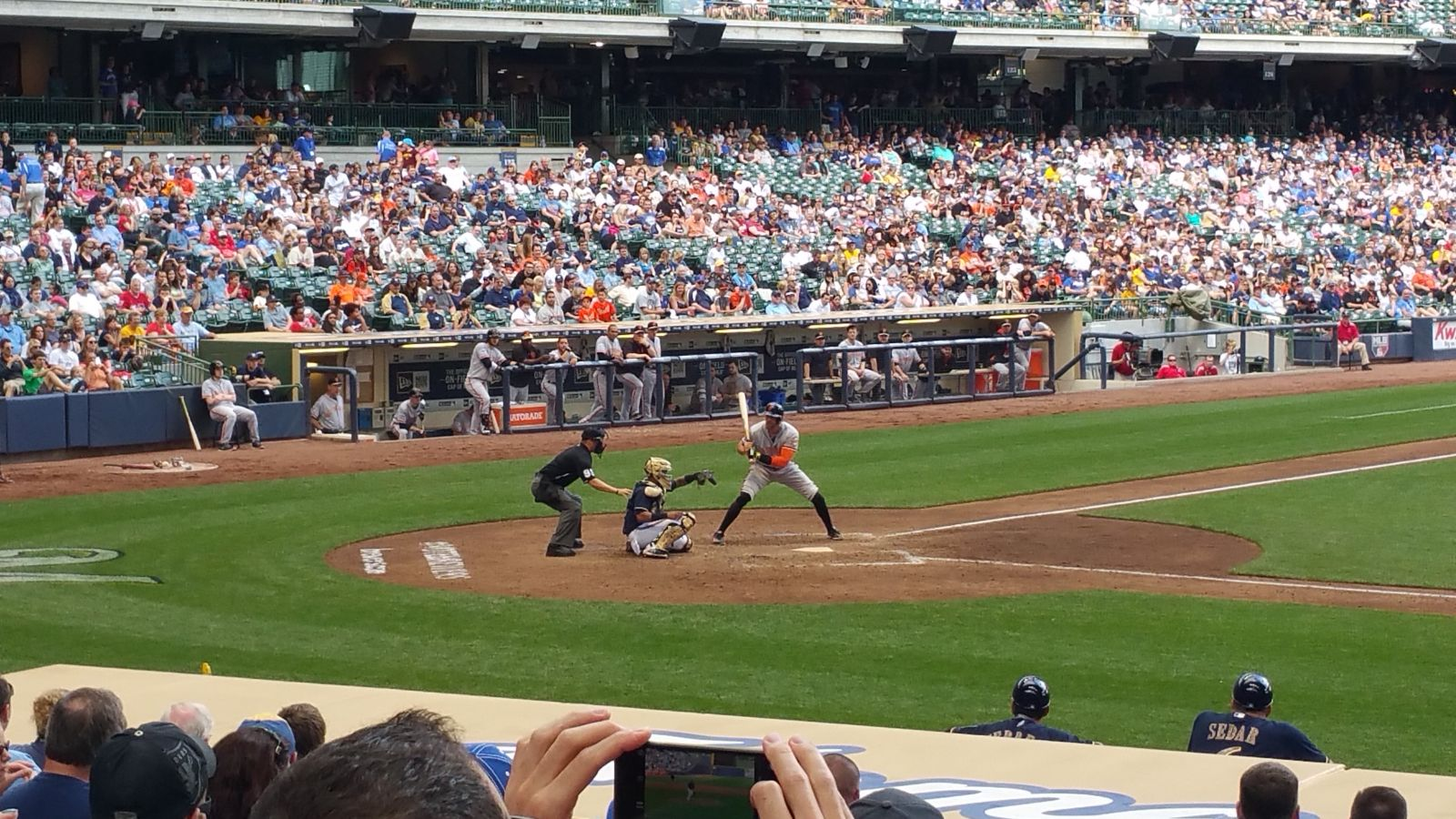 Seat View for Miller Park Section 113