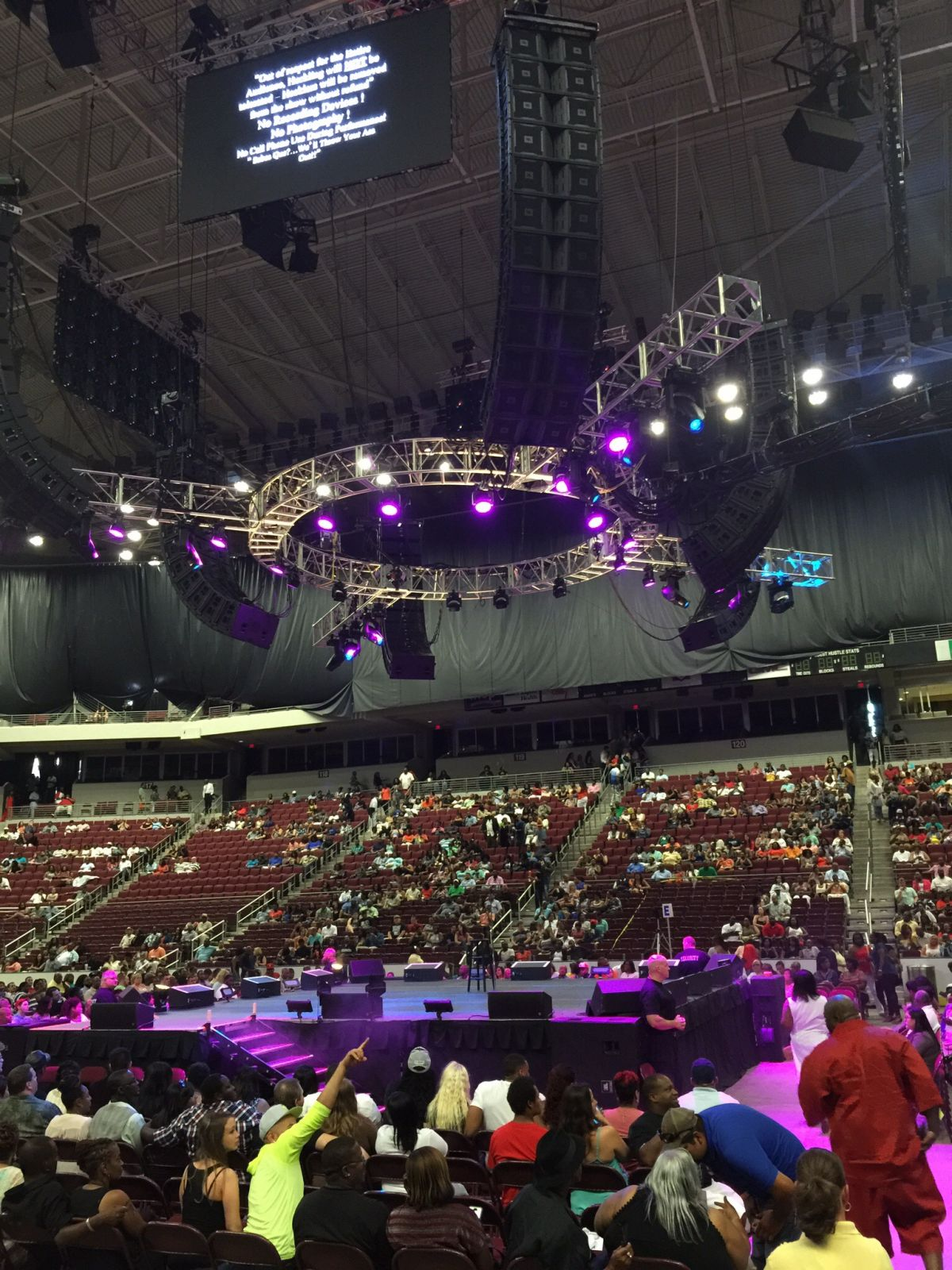 Verizon Arena Section 106 Rateyourseats Com