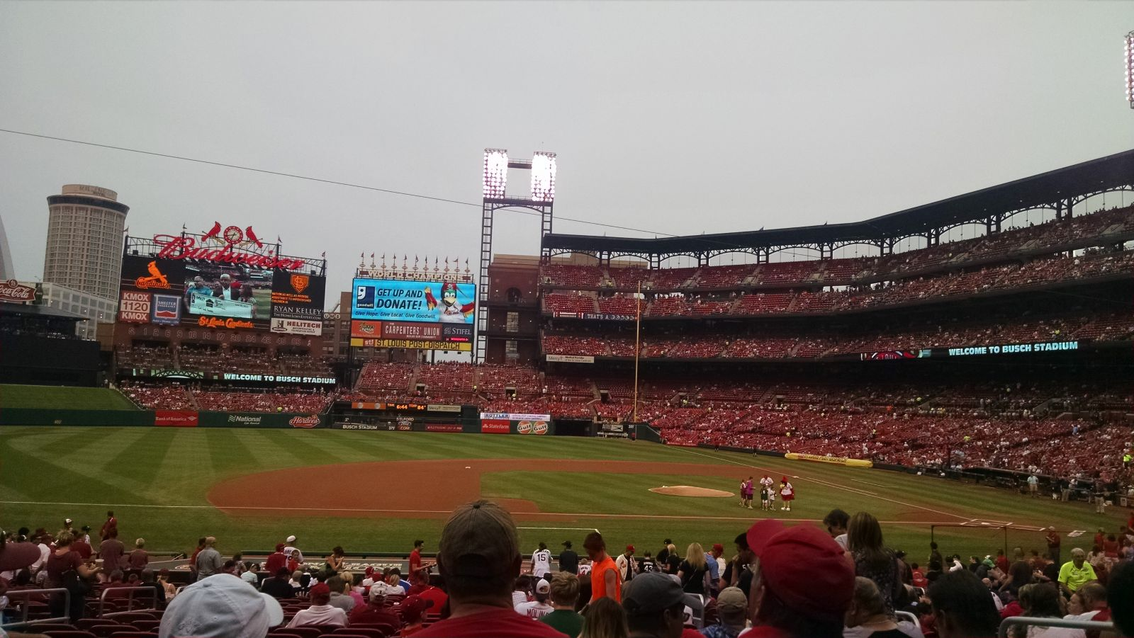 Busch Stadium : Row 18