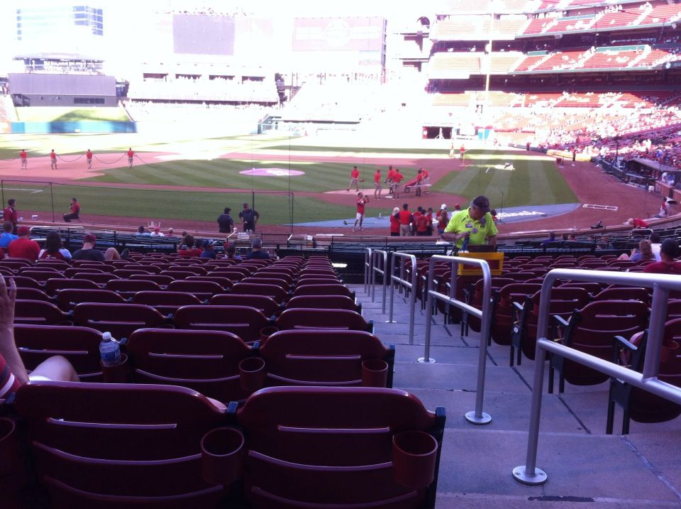 Seat View for Busch Stadium Section 153, Row 16, Seat 1