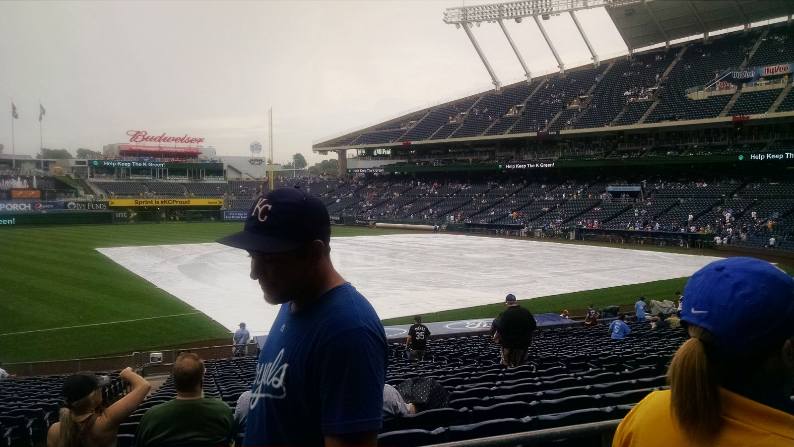 Kauffman Stadium : Row AA