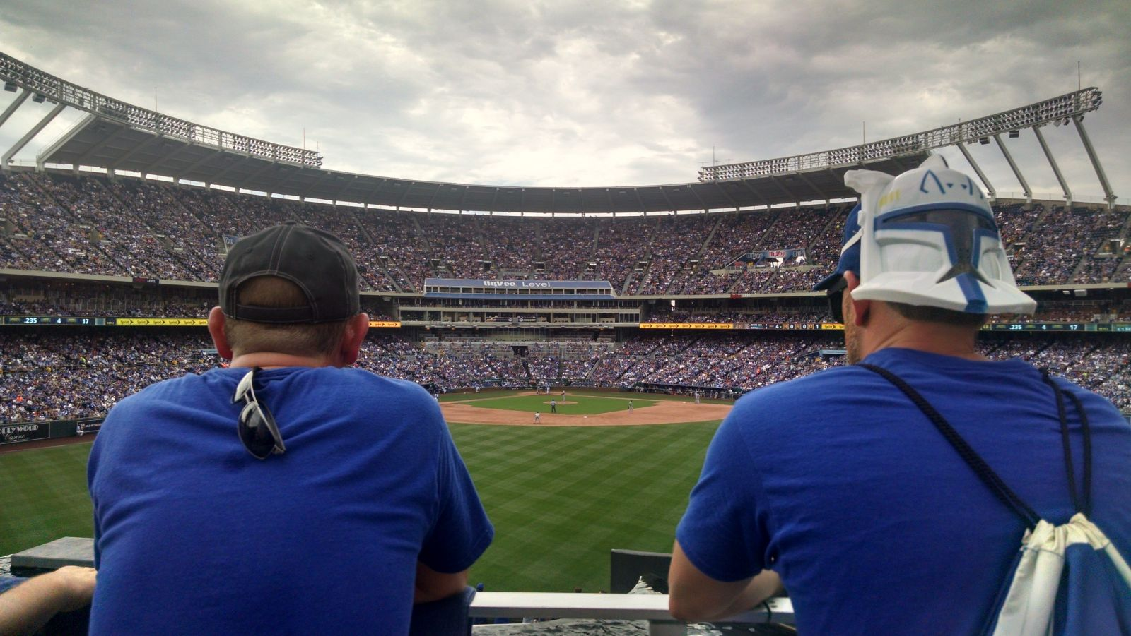 Seat View for Kauffman Stadium Standing Room Only, Row GENERAL