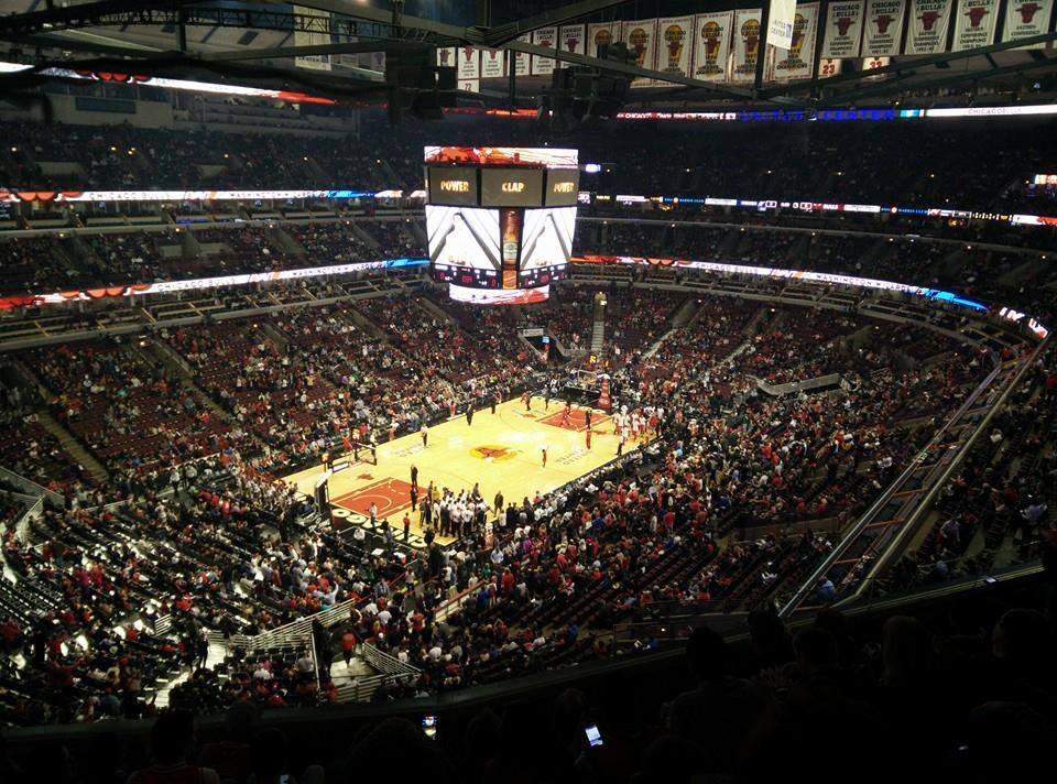 Chicago Bulls Seat View for United Center Section 305, Row 7, Seat 9