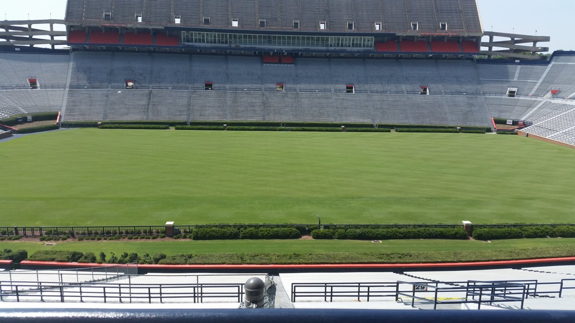 Seat View for Jordan Hare Stadium Nelson Club