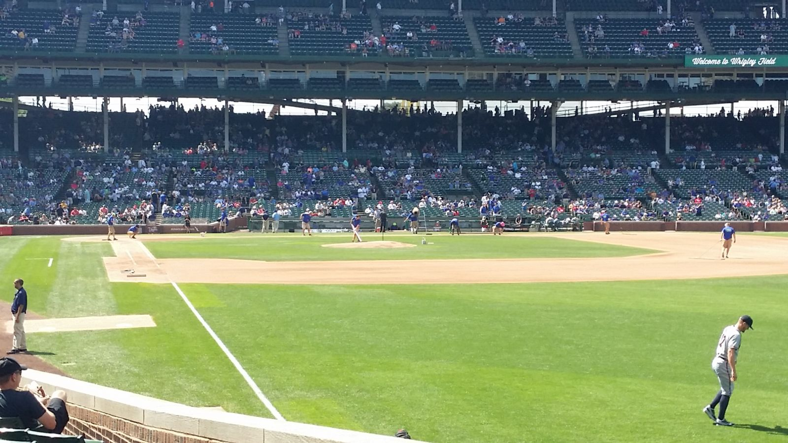 Seat View for Wrigley Field Section 140, Row 9, Seat 11