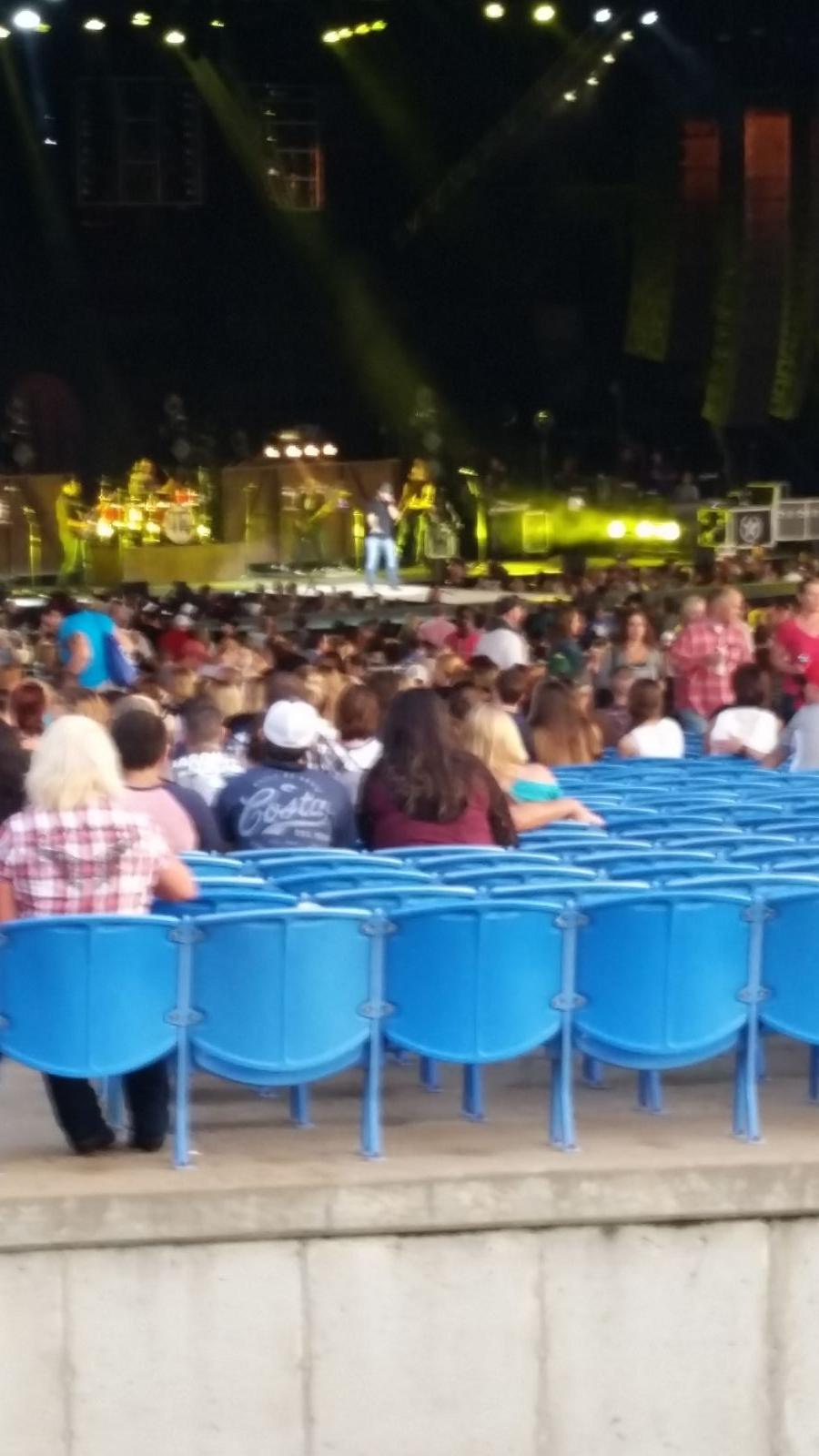 Concert Seat View for Hollywood Casino Amphitheatre Lawn