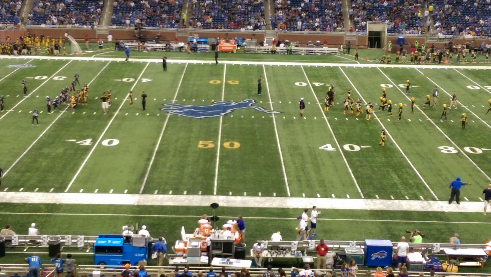 Seat View for Ford Field Section 231, Row 2, Seat 1