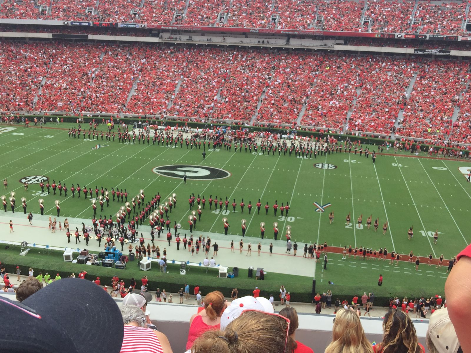 Seat View for Sanford Stadium Section 305, Row 6, Seat 11
