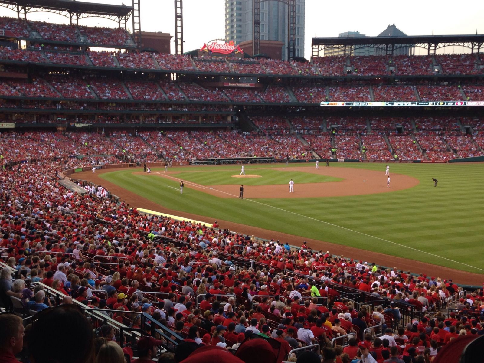 Seat View for Busch Stadium Section 133, Row 27, Seat 10