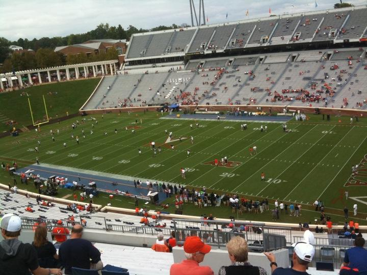 Seat View for Scott Stadium Section 529