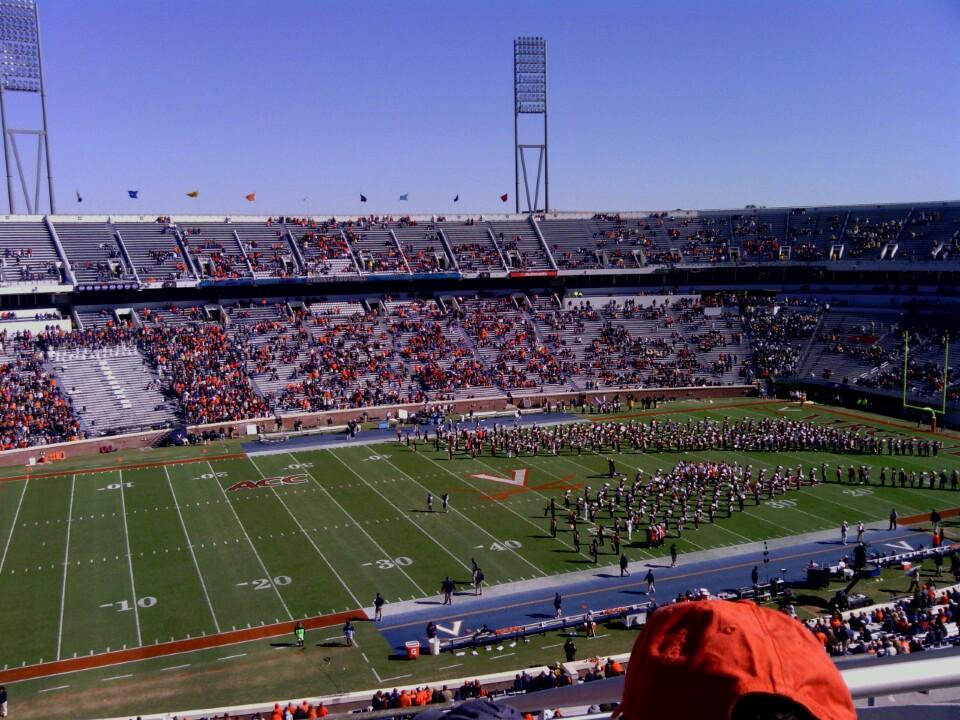 Seat View for Scott Stadium Section 536