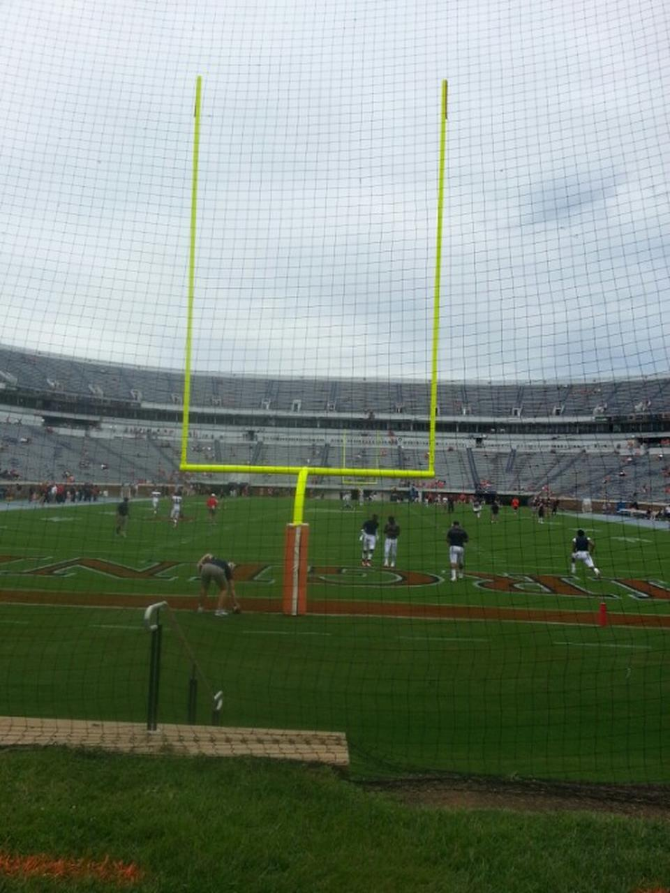 Seat View for Scott Stadium Hillside