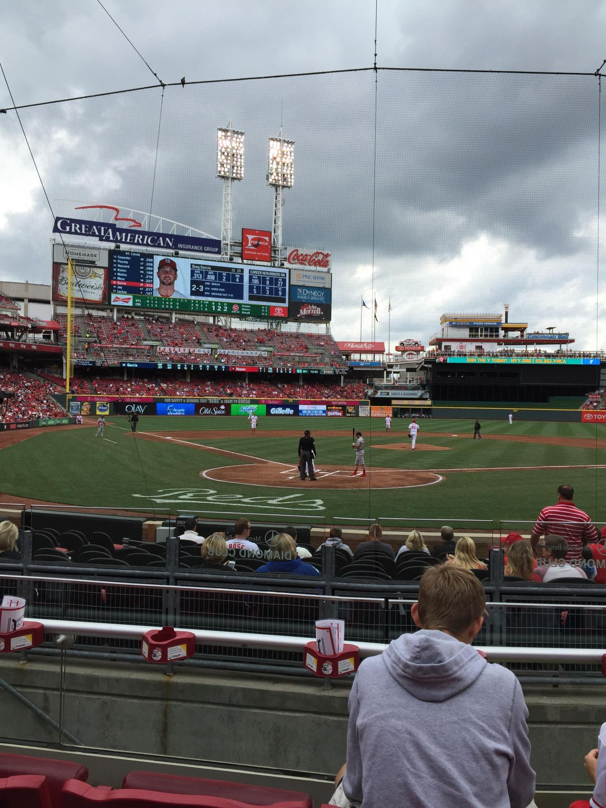 Seat View for Great American Ball Park Section 24, Row C, Seat 5