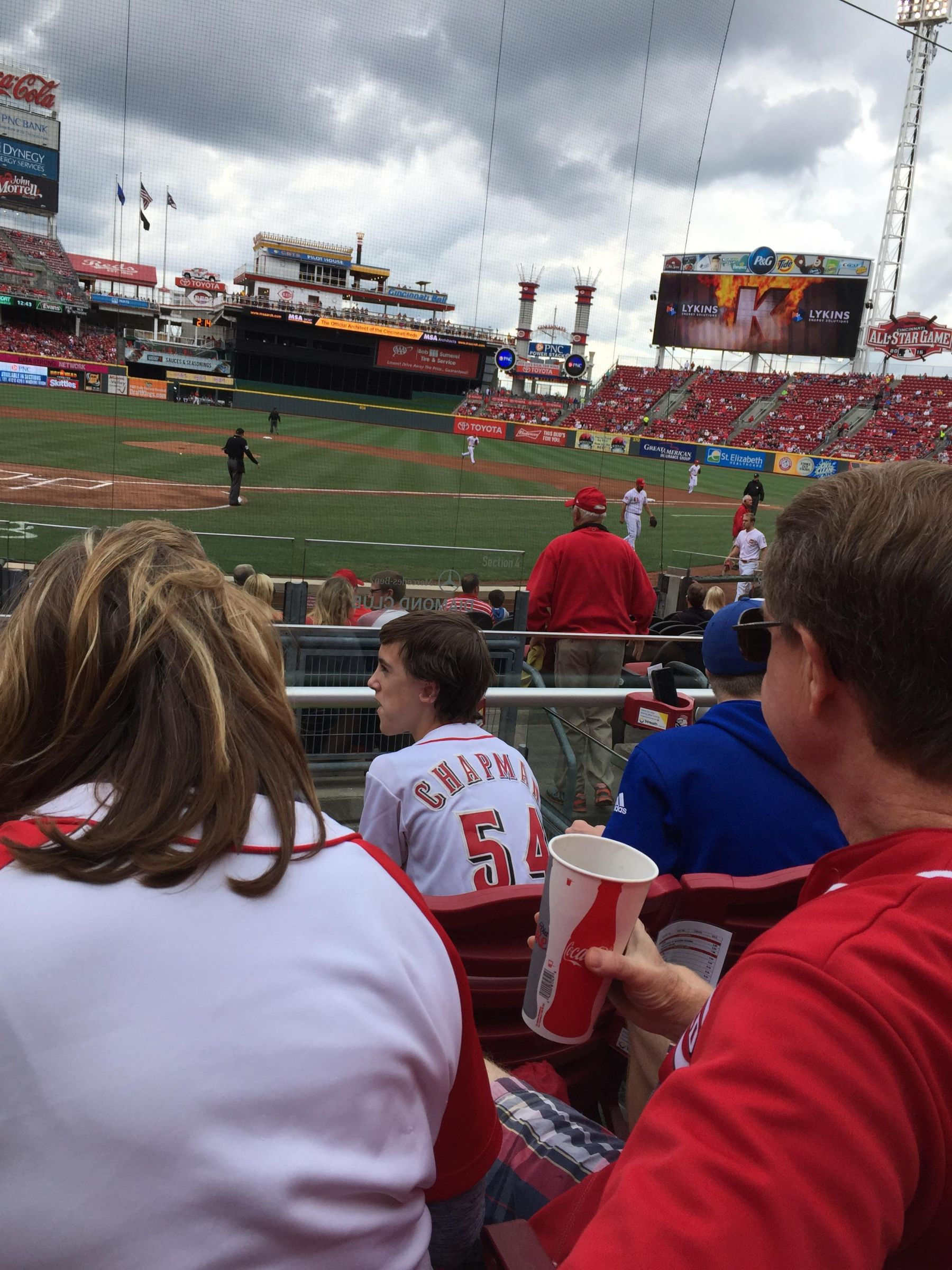 Seat View for Great American Ball Park Section 24, Row C, Seat 567