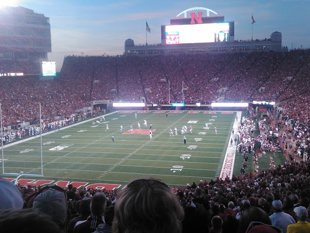 Seat View for Memorial Stadium Section 15
