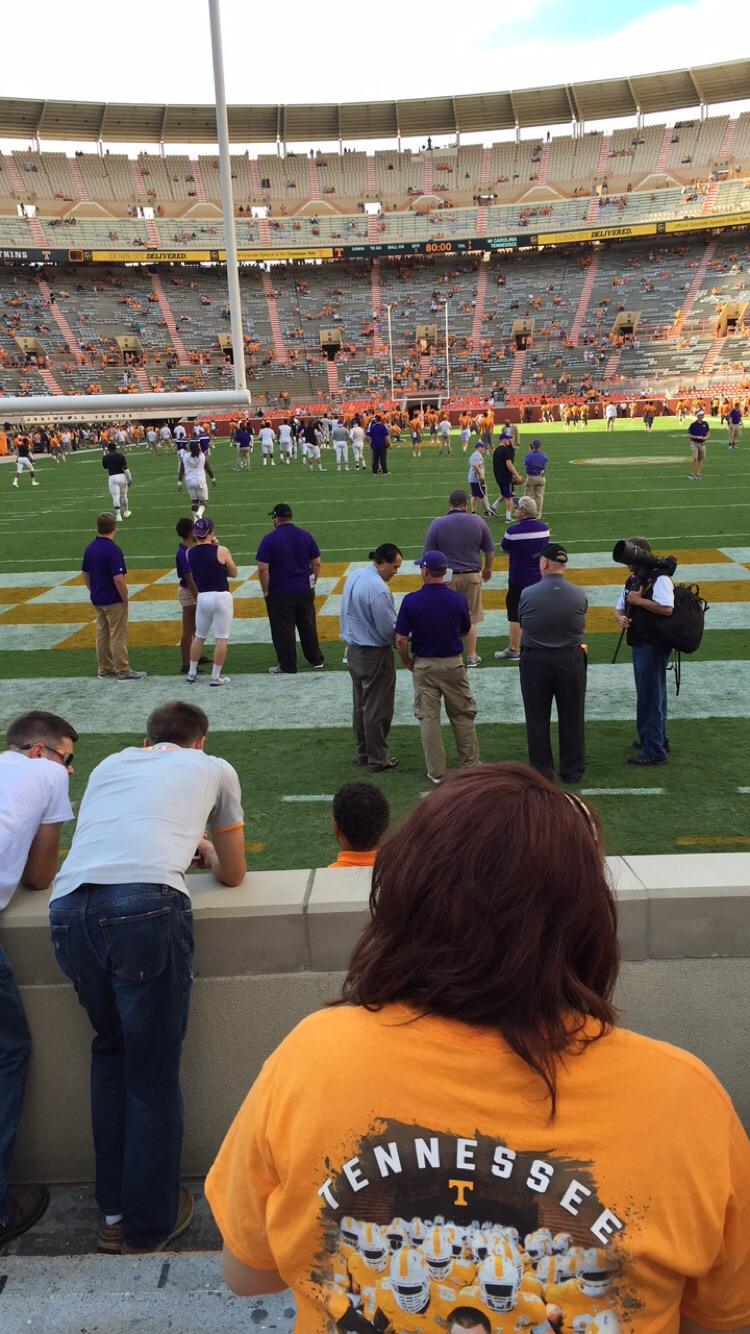 Seat View for Neyland Stadium Section K, Row 5, Seat 20