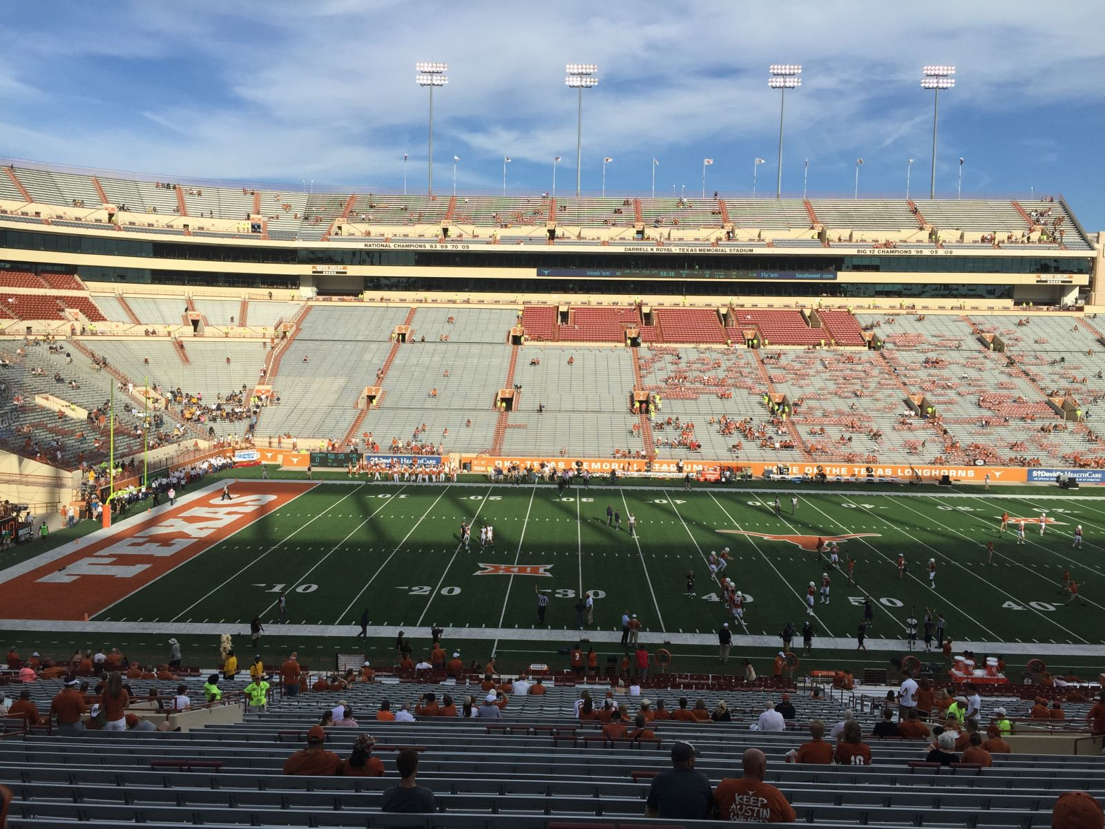 Seat View for DKR-Texas Memorial Stadium Section 6, Row 47, Seat 1