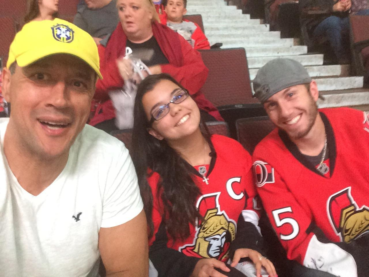 Fans Sitting Near Canadian Tire Centre Section 116