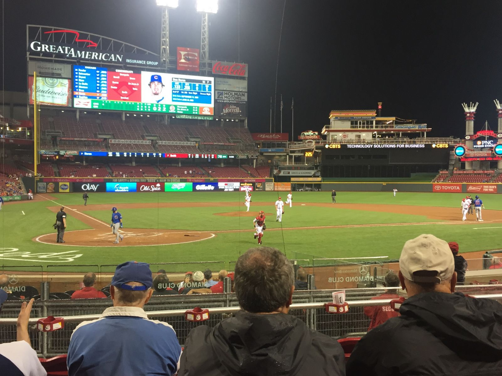 27th at great american ball park rateyourseatscom