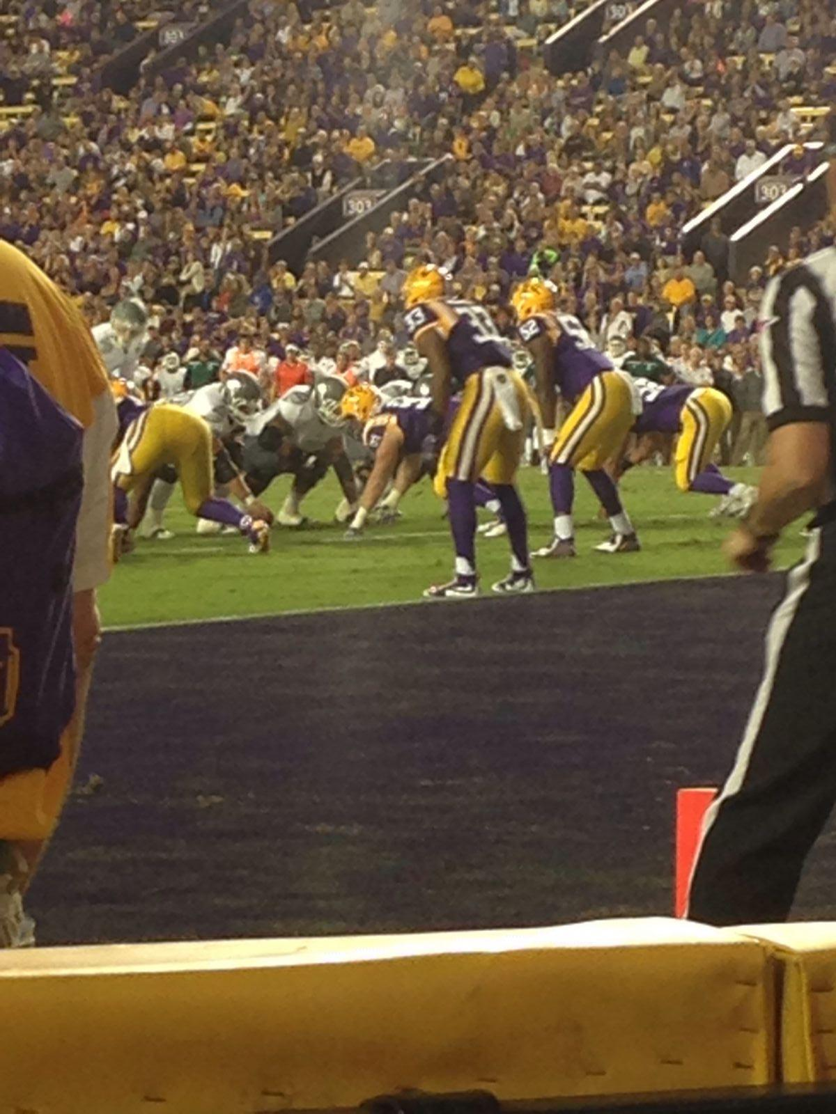 Seat View for Tiger Stadium South Box 47, Row 1, Seat 9