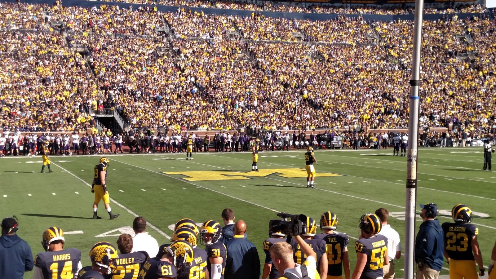 Seat View for Michigan Stadium Section 24, Row 2, Seat 11