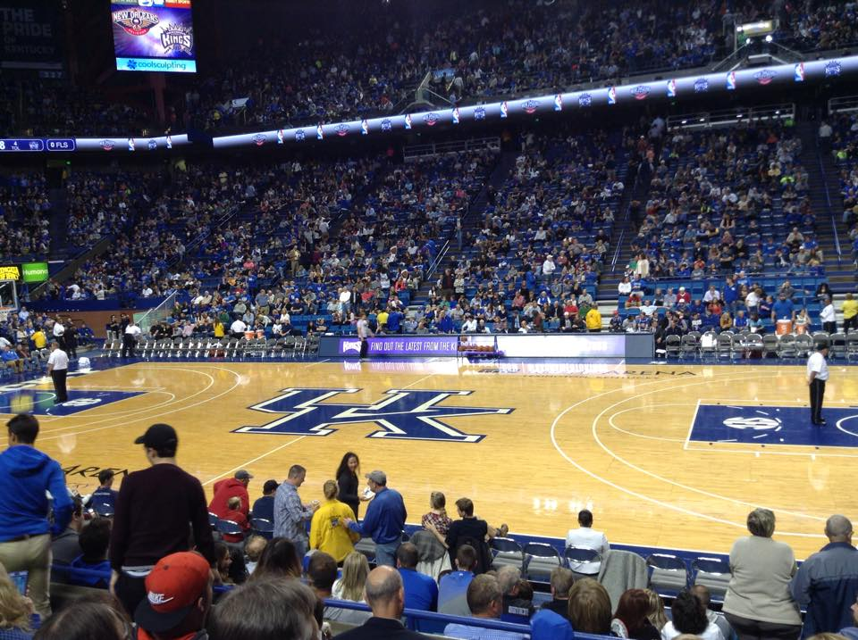 Seat View for Rupp Arena Section 13, Row E, Seat 5