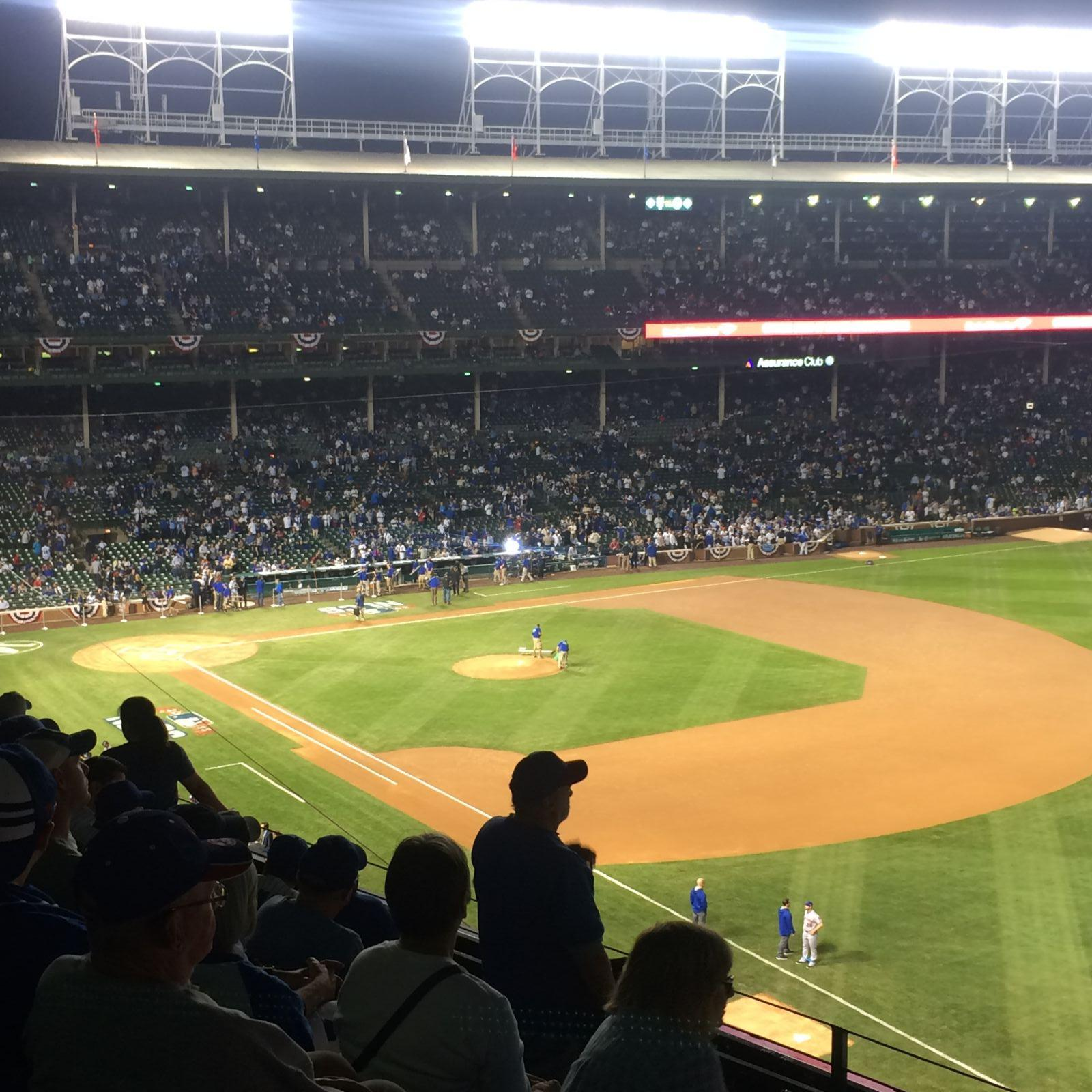Seat View for Wrigley Field Section 330, Row 7, Seat 3