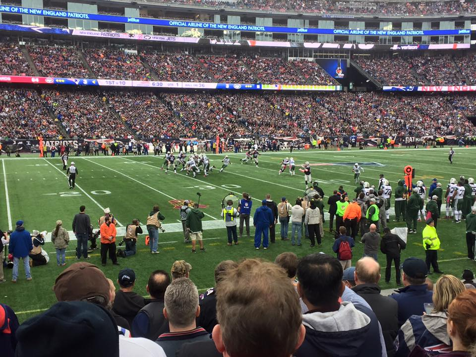 Section 134 seat view