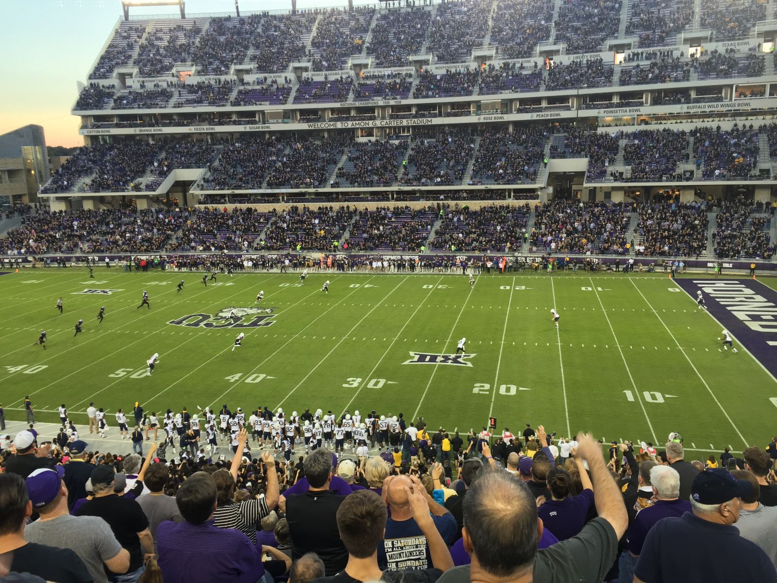 Seat View for Amon Carter Stadium Section 232, Row M, Seat 14