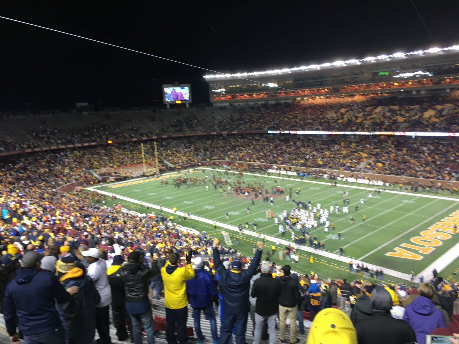 Minnesota Gophers Seat View for TCF Bank Stadium Section 204, Row 30, Seat 18