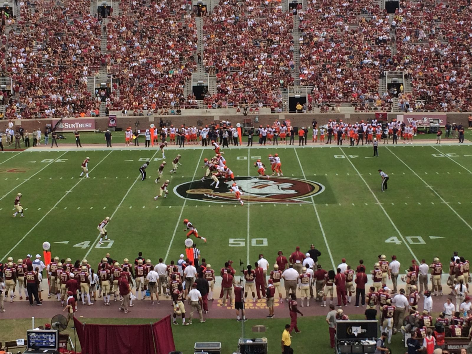 Section 33 seat view