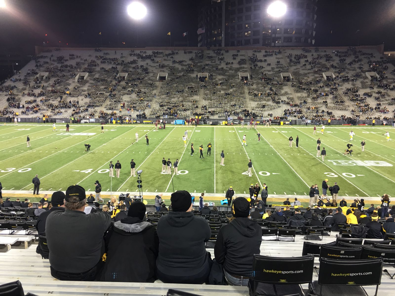 Seat View for Kinnick Stadium Section 126, Row 36, Seat 21