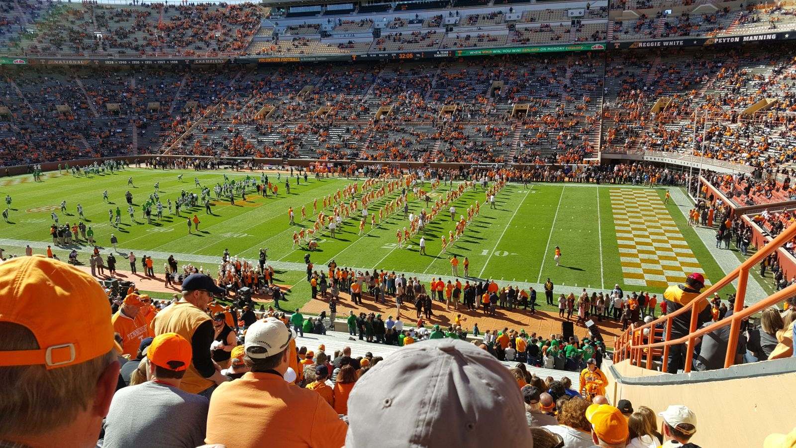 Section A seat view