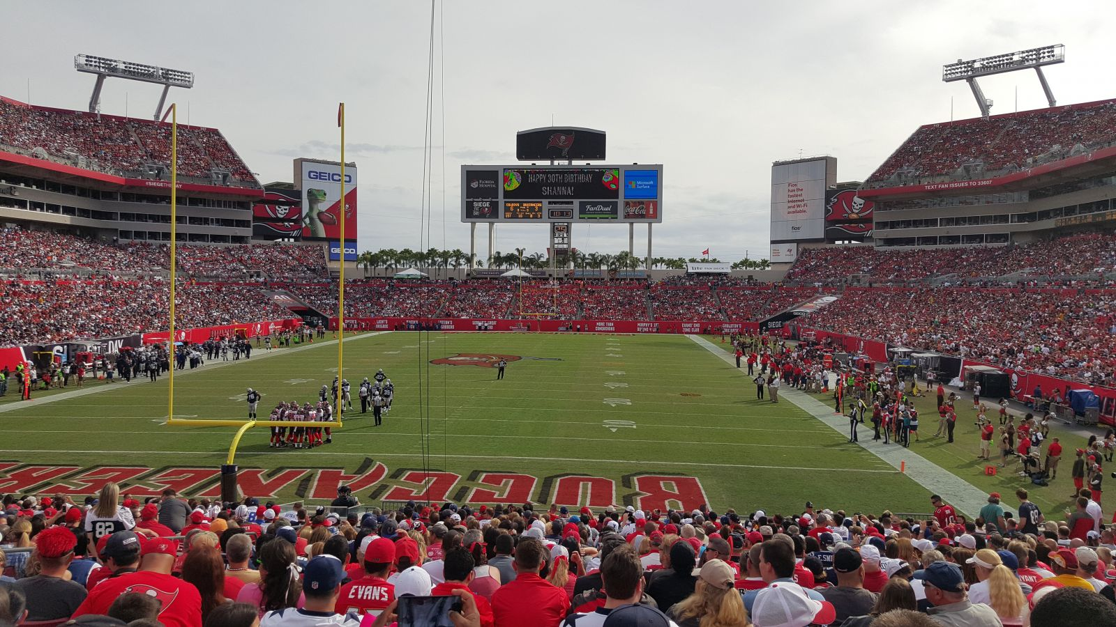 Seat View For Raymond James Stadium Section 149