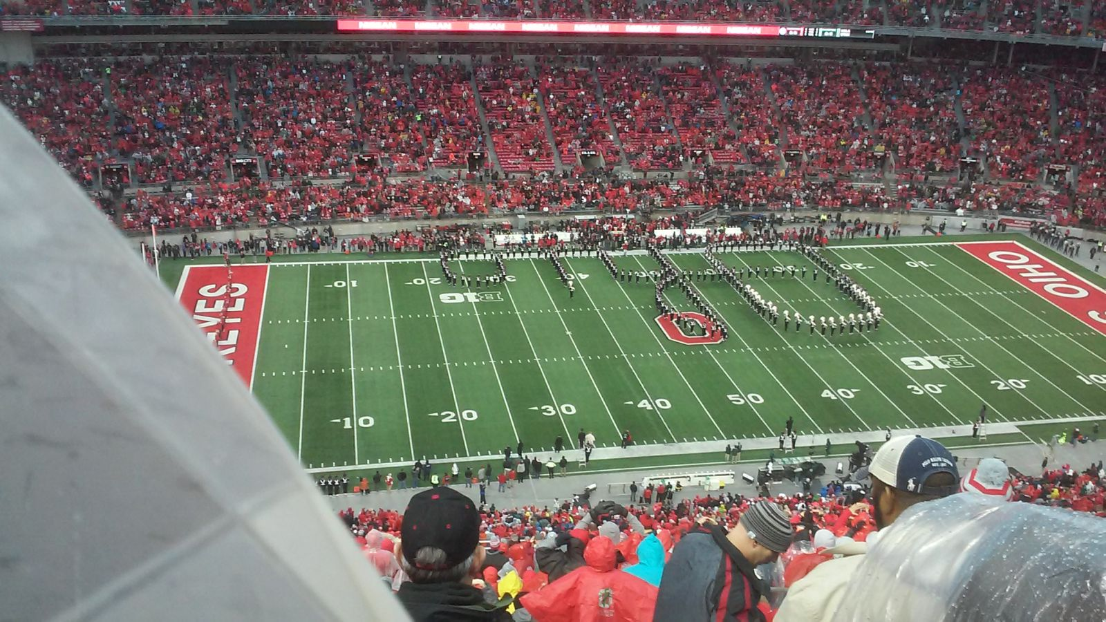Seat View for Ohio Stadium Section 26C, Row 41, Seat 7