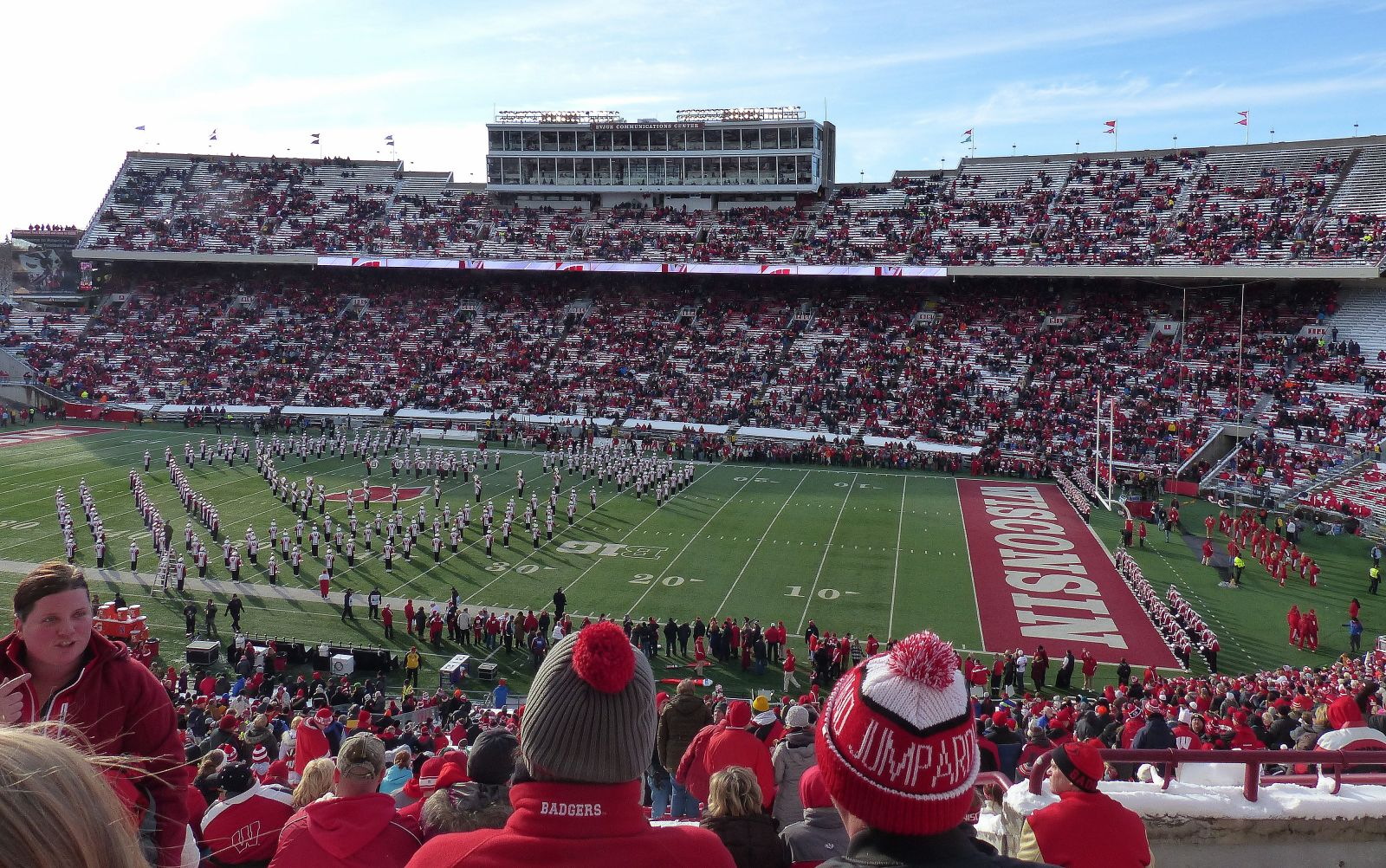 Section R seat view