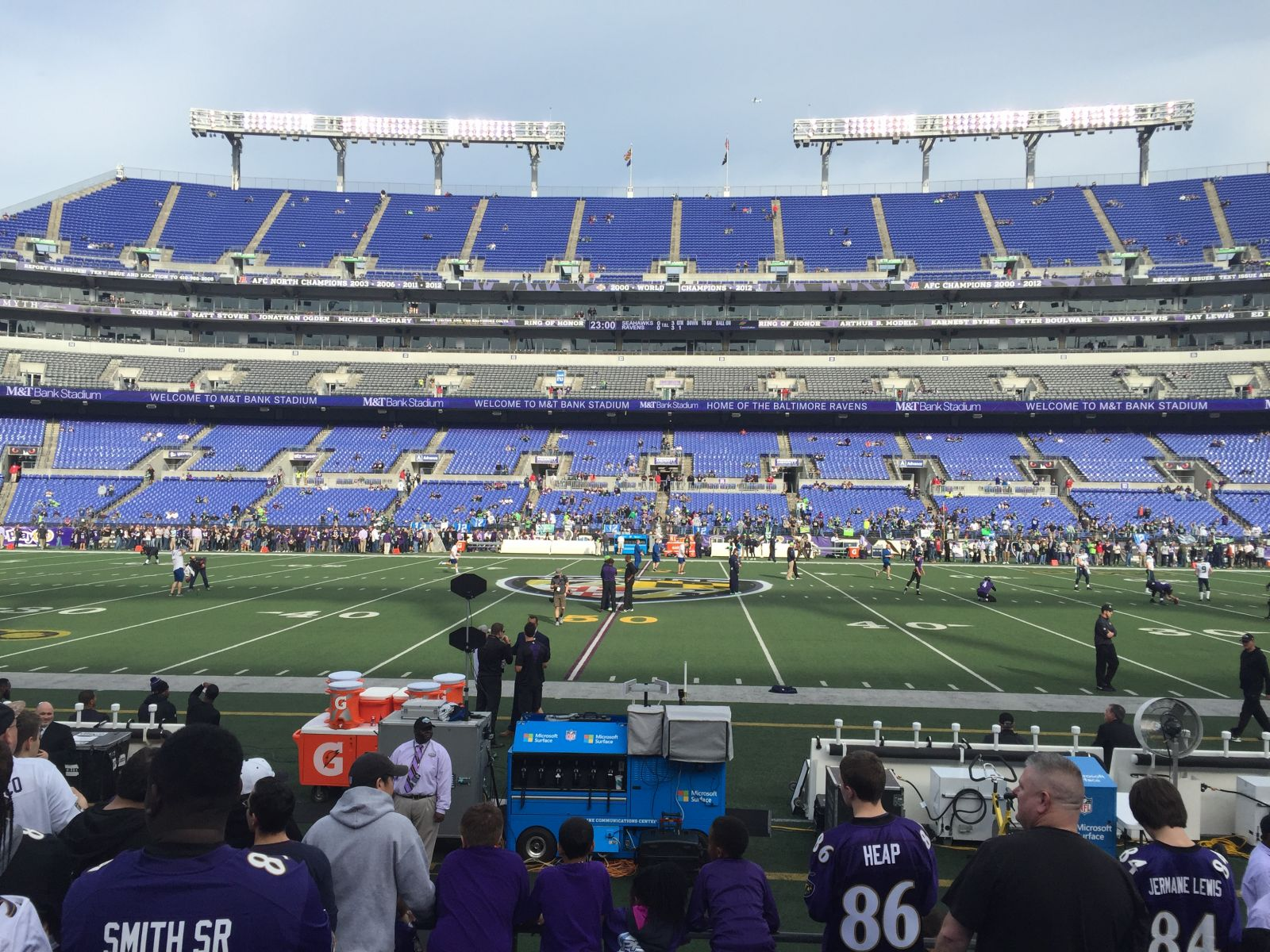 Seat View for M&T Bank Stadium Section 126, Row 7, Seat 19