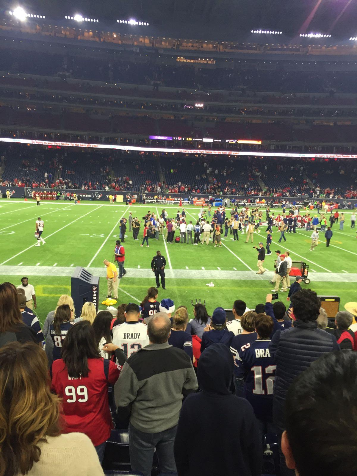 Houston Texans Seat View for NRG Stadium Section 128, Row J, Seat 5