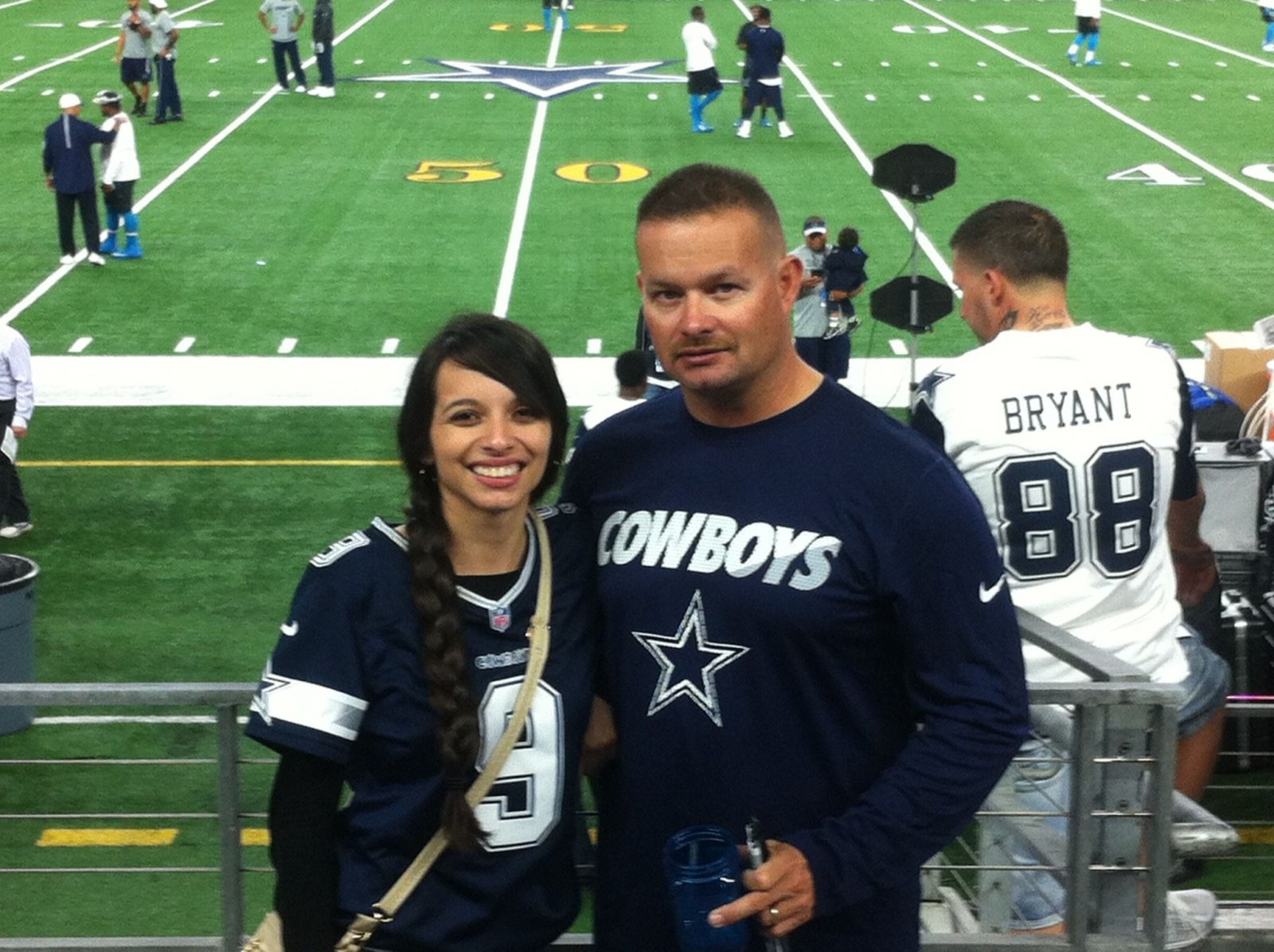 Fans Sitting Near AT&T Stadium Section C106