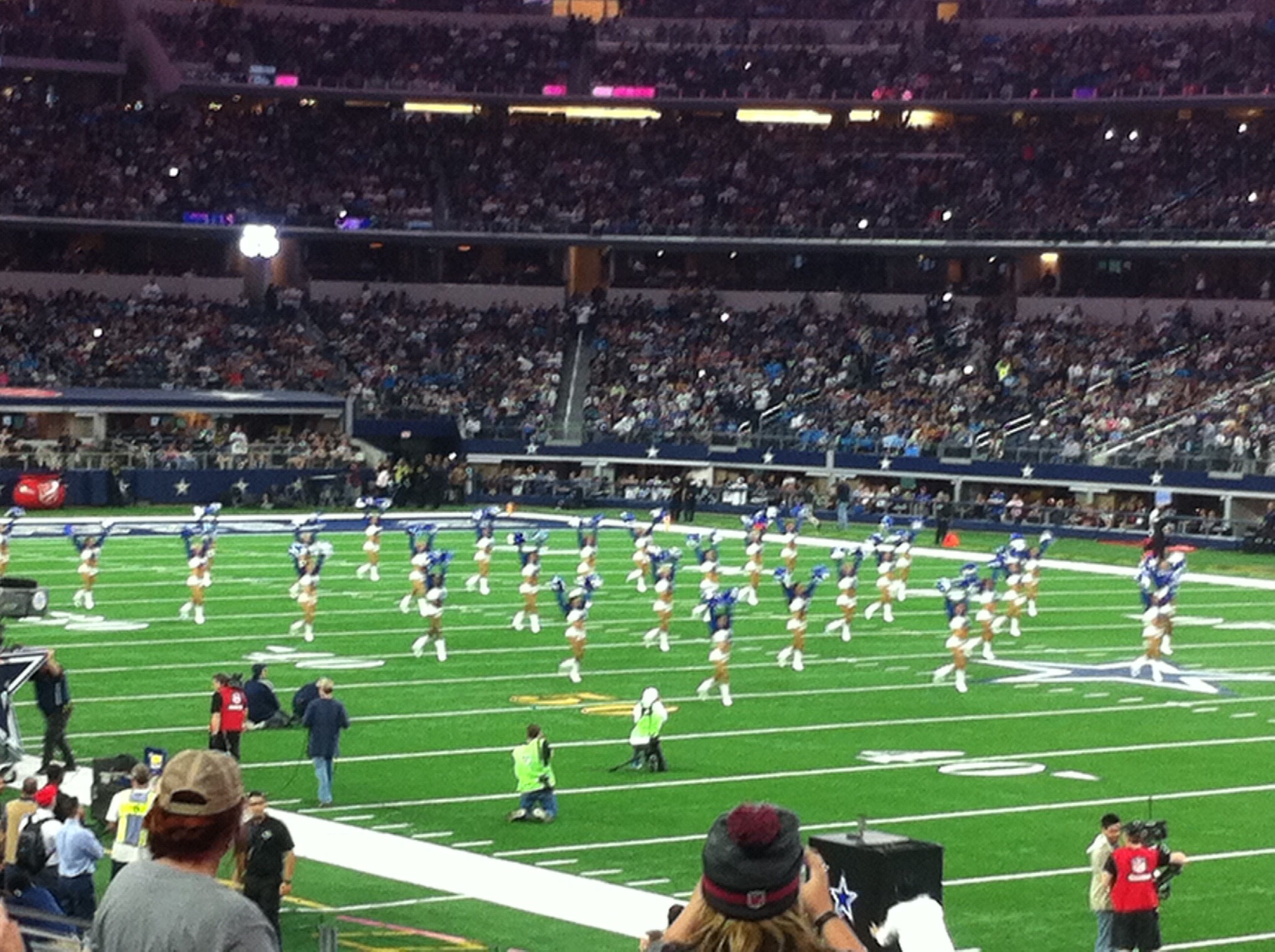 Dallas Cowboys Seat View for AT&T Stadium Section C106