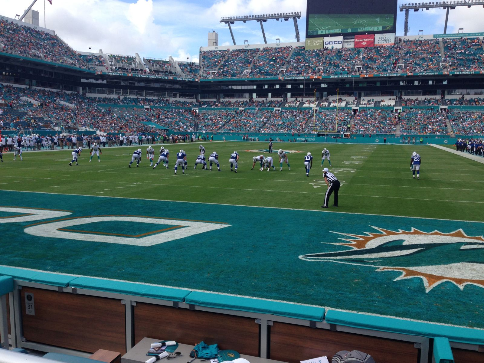 Hard Rock Stadium Section 131 Miami Dolphins
