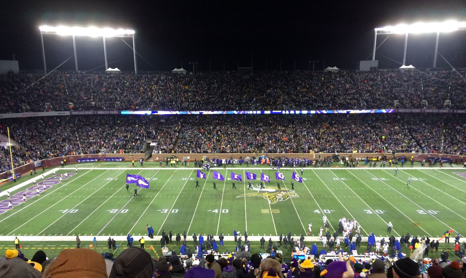 Section 3 seat view