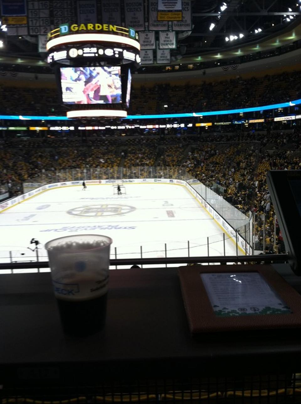 Td Garden Sports Deck Boston Bruins Rateyourseats Com