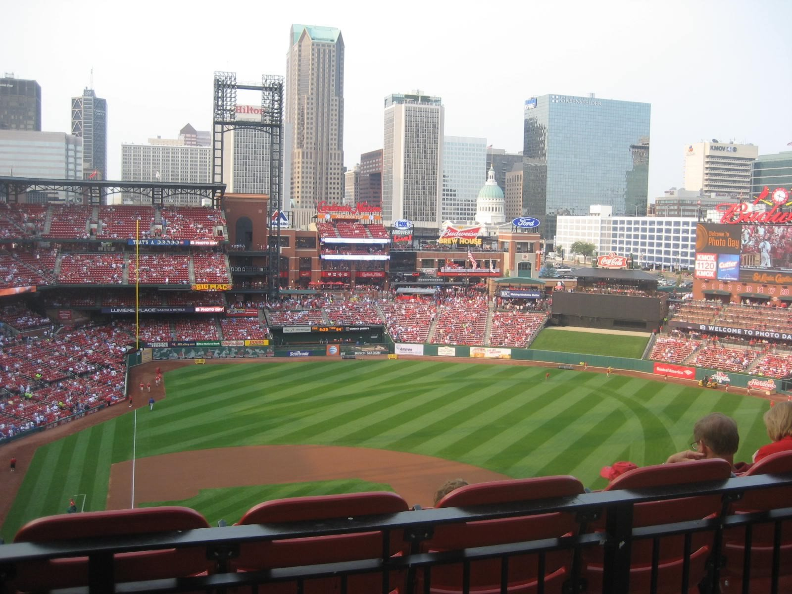 Seat View For Busch Stadium Standing Room Only