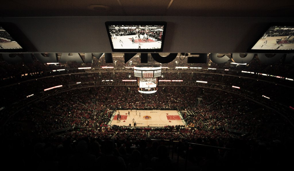 Chicago Bulls Seat View for United Center Standing Room Only