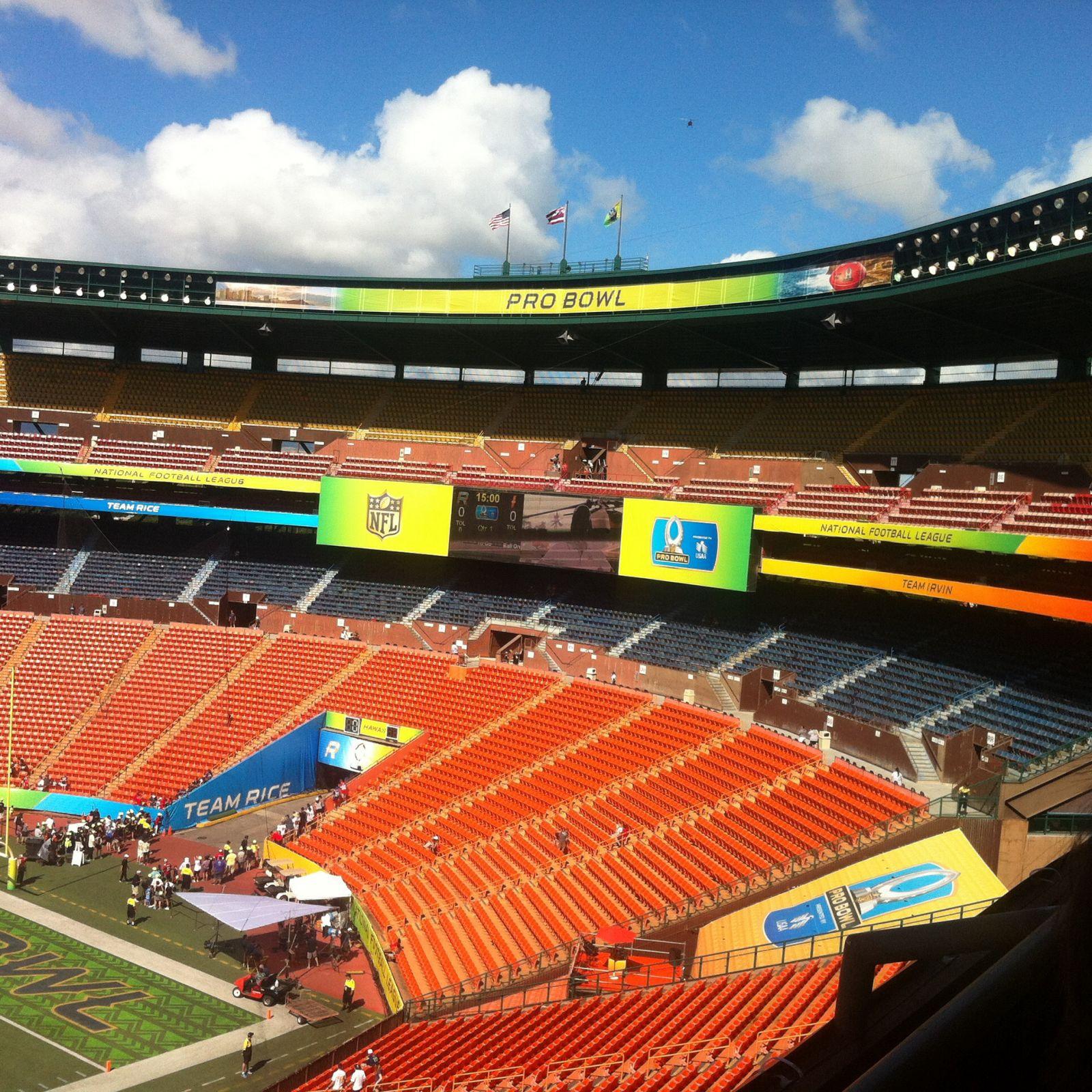 Warriors New Stadium Virtual Tour: Aloha Stadium Red NN