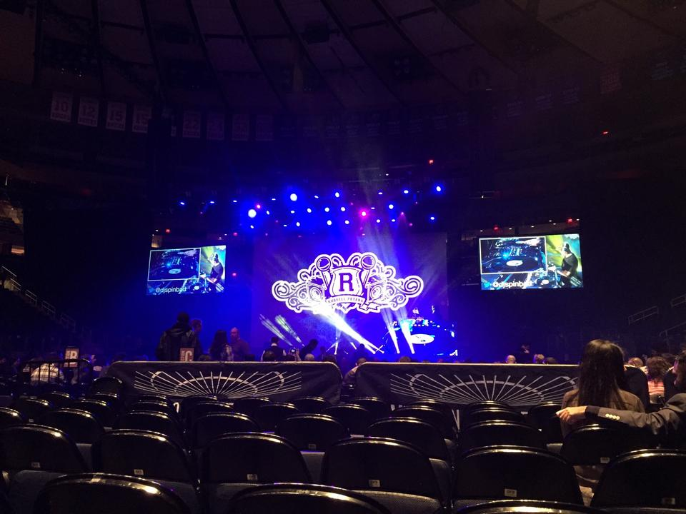 Madison Square Garden Floor F Concert Seating
